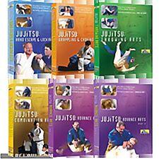 Learn Jujitsu Self Defense  Method 6 DVD Set Vol. 1 - 6