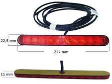 LED Aspöck 3. Bremsleuchte Stop Zusatz Bremslicht mit Kabel 3,5m Böckman Knaus