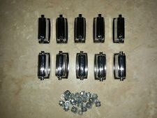 10 Vintage Rogers Dynasonic Snare Drum Lugs and Mount Screws - BEAUTIFUL!
