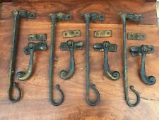 Antique Iron Window Stays And Catches