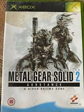 Metal Gear Solid 2 Substance Microsoft Xbox