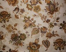 Vintage Retro Cream, Brown Wallpaper
