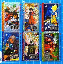 Dragon Ball Fan - Custom Card PrismCard Set 6 bis Cards Animate - PP Card