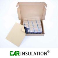 Silent Pads 2.5mm 10 LG Sheets Pack Car Van Deadening Sound Proofing Damping Mat