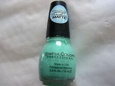 VERNIS A ONGLES SINFULCOLORS N° PORCELAIN MATTE 1718SHES GONE MATTE