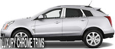 Cadillac SRX Stainless Steel Chrome Pillar Posts by Luxury Trims 2010-2015 (6pc)