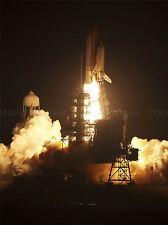 Space Center Space Shuttle Discovery-Feuriger Start Kunstdruck Poster 295pya