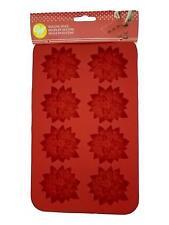 Silicone Candy Mold-Christmas Poinsettia 9 Cavity (1 Design)