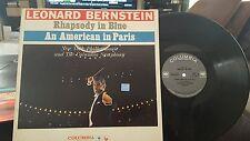 Leonard BERNSTEIN RHAPSODY IN BLUE  AMERICAN IN PARIS 2-EYE  ML- 5413 NM