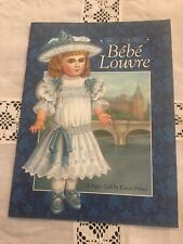 """EMILE JUMEAU'S BEBE LOUVRE"" PAPER DOLL BY KAREN PRINCE EX COND"
