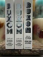 Buxom Full-On Plumping Lip Cream 0.14 oz / 4.2 ml (You Pick) BNWOB