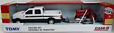Tomy Case IH 1/43 Scale Hauling Set - Farmall Tractor & Case IH Dealership Truck