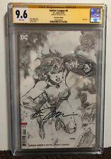 Jim Lee Signed Autographed Wonder Woman Justice League #4 DC Comics CGC 9.6