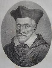JACQUES AMYOT . Portrait, lithographie de 1821,