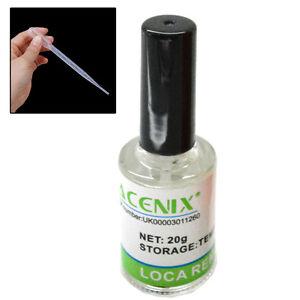 ACENIX® LCD Glue Remover UV LOCA OCA for Mobile Phone Screens 20ml +  3ml Droper