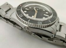 Borealis Bull Shark Dark Green Diver Watch Miyota 9015 Date 2000m