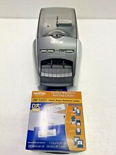 Brother Ql 570 Thermal Label Printer Withpower Cord Printer Cable Amp Dk 1201 Label