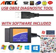 PEUGEOT  OBD2 USB Original Car Code Scanner DIAGNOSTIC TOOL Interface