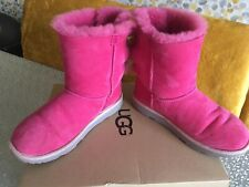 Pink ugg Boots Size 3