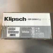 Klipsch CDT-2650-C II Directional In-ceiling In-wall speaker Brand new