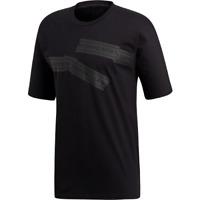 adidas Originals NMD Tee New Men's Black Active Wear Graphic T-Shirt 2019 DH2236