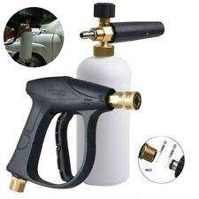 "1/4"" Car Wash Foam Gun High Pressure Washer Foamer Generator Water Sprayer Gun"