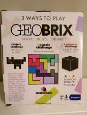 GeoBrix by Brainwright - Solve Build Create Puzzle