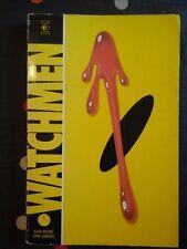 WATCHMEN - Signé par Dave GIBBONS - ed:titan books - 1987:first english edition
