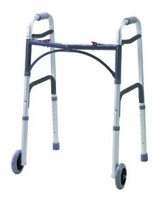 Drive Folding Walking Frame With Wheels - WA009