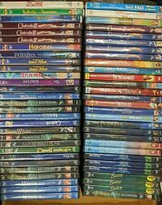 57 Asst. Disney DVDs - Great Variety!