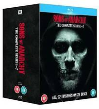 Sons Of Anarchy Complete Series Season 1 2 3 4 5 6 7 Reg Free Blu Ray Box Set