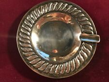 Vintage Sterling Silver Ashtray by Conquistador Silversmiths of Mexico c. 1935