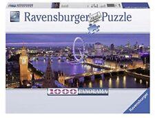 London at Night 1000 Piece Panorama Puzzle (Ravensburger) New