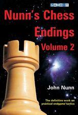 Nunn's Chess Endings, volume 2. NEW CHESS BOOK