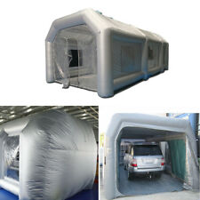Inflatable Giant Car Workstation Spray Paint Tent Paint Booth Custom 6*3*2.5m