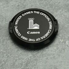 Genuine Canon FD 1980 Olympic Winter Games C 52mm Snap-On Front Lens Cap (#1340)