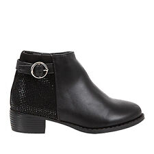 Meeka   Gossip   Kids Girls Sparkly Ankle Boot   Spendless Shoes