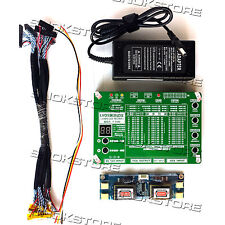 "TEST TOOL FOR LAPTOP TV LCD LED PANEL SUPPORT 7-84"" LVDS INTERFACE TESTER SCREE"