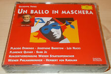 VERDI-UN BALLO IN MASCHERA-2xCD 1996-KARAJAN-DOMINGO/NUCCI/BARSTOW-NEW & SEALED