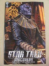 Star Trek Discovery #1 IDW 2017 Series Cover B Photo Variant 9.6 Near Mint+
