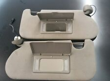 02 03 04 Oldsmobile Bravada Left and Right Sunvisor with mirror and light