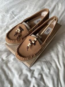 Ugg Australia Suzette Shoes, Size UK 3.5, Chestnut, Brand New
