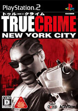Used PS2 True Crime: New York City   Japan Import (Free Shipping)