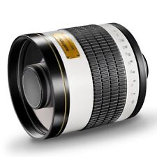 Walimex pro 8,0/800 DX spiegeltele t2 para Nik. nuevo embalaje original