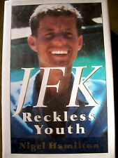 JFK : Reckless Youth by Nigel Hamilton (1992, Hardcover) First Edition