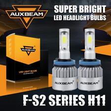 Auxbeam H8 H9 H11 72W 8000LM LED Headlight Kit High or Low Beam Fog Bulbs 6500K