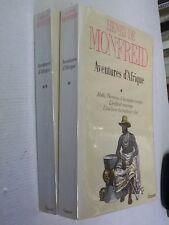 MONFREID . Aventures et légendes d ' Afrique . 2 volumes .