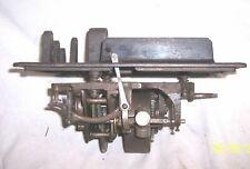 EDISON STANDARD PHONOGRAPH MODEL D BED PLATE MOTOR