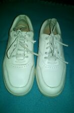 DR Comfort Robert White Leather Diabetic Oxford Men's Shoes #7040 Size US 11W