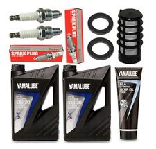 Service Set Wartungs Set für Yamaha Außenborder Typ F9.9H 10W30 GL4 YAMALUBE
